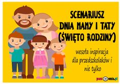 Archiwa: Uroczystości i projekty - Pani Monia Mom And Dad, Crafts For Kids, Preschool, Family Guy, Education, Children, Blog, Fictional Characters, Dough Recipe