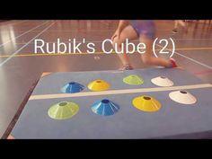 Rubik's Cube in de gymles! - YouTube