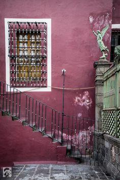 Purple wall Puebla #Mexico