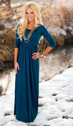 Evelyn Tie-Waist Maxi Dress