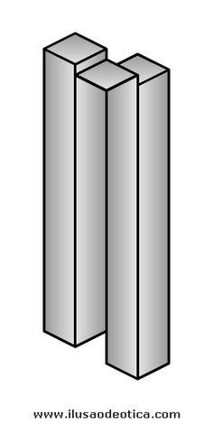 2 or 3 beams?  .......optical illusions