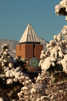 Winter at UCCS  University of Colorado, Colorado Springs