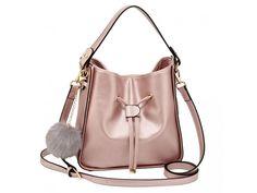 Kabelka na rameno Kelsey champagne Bucket Bag, Champagne, Model, Bags, Fashion, Handbags, Moda, Fashion Styles
