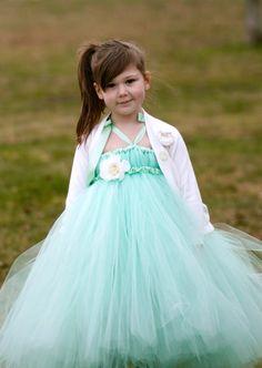 The Faery Tutu Dress  Mint Green  for by littledreamersinc on Etsy