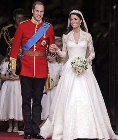 Princess Kate's wedding dress.