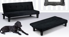 Lounge in your living room on the sophisticated suede-look 'Lucus' sofa bed. Add an air of modern elegance to your décor & save Voucher Code, Sofa Bed, Home And Garden, Lounge, Living Room, Modern, Sleeper Couch, Airport Lounge, Bed Couch