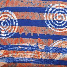 African Wax Batik #119 – Ananse Village