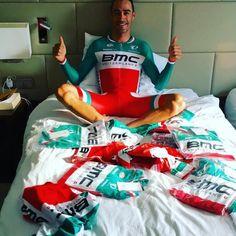 Italian TT champ @manuelquinziato of @bmcproteam looks pretty stoked.