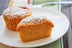 Mini Pumpkin Cheesecakes Recipe (Healthy Recipes), contain low-fat cream cheese, white whole-wheat flour and no crust, less than 120 calories per cake