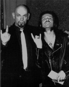 King Diamond and Anton LaVey together. This is pure epicness.
