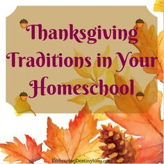 Thanksgiving traditions in your homeschool: using Stories of the Pilgrims and other books and audiobooks to celebrate and learn about Thanksgiving. embracingdestinyblog.com