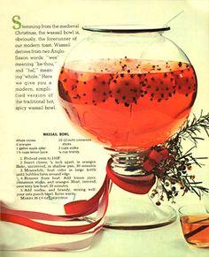 Wassail Bowl | Shelf Life Taste Test | Flickr Recipe Cover, Recipe For 4, Latte Flavors, Russian Tea, Shelf Life, Vintage Recipes, Non Alcoholic, Crockpot, Spicy