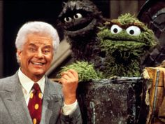 """Latin jazz musician Tito Puente is also known as """"El Rey de los Timbales"""" (The King of the timbales). Here he faces off with Oscar the Grouch on Sesame Street. (via EW)"""