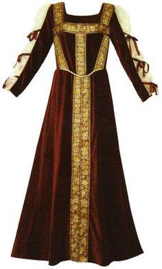 Lady Janes Renaissance Gown: Renaissance Costumes, Medieval Clothing, Madrigal Costume: The Tudor Shoppe