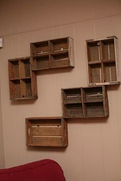 crate wall