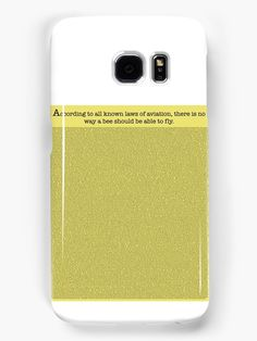 According to to all know laws of aviation, there is no way a bee should be able to fly • Also buy this artwork on phone cases, apparel, stickers, and more.