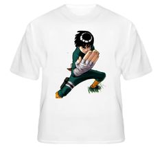 Rock Lee taijutsu master Springtime of Youth Team Guy Naruto Manga anime T Shirt
