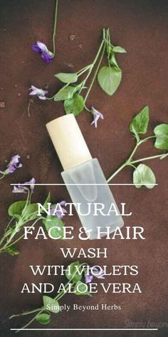 Made of natural moisturizers and packed with antioxidants, this easy to make a violet face and hair natural wash will keep your face and hair smooth and hydrated. #diyskincare, #facewash, #hairrinse,#naturalfacewash Natural Face Wash, Natural Skin Care, Natural Beauty, Diy Skin Care, Facial Skin Care, Perfume Recipes, Diy Shampoo, Natural Moisturizer, Solid Perfume