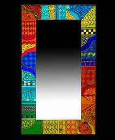 colourfull mirror mosaic