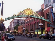 Does your next San Diego getaway include a trip to the Gaslamp Quarter? #SanDiego