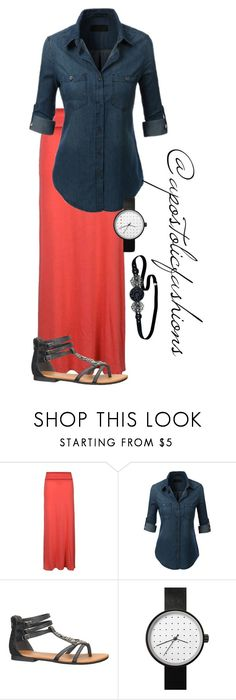 """""""Apostolic Fashions #1675"""" by apostolicfashions ❤ liked on Polyvore featuring Ally Fashion, maurices and Jane Tran"""