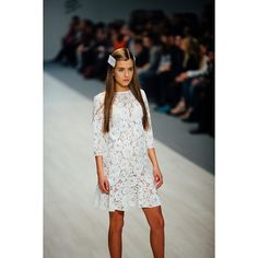 """""""Lace dress by Coo Culte  #CooCulteShow #CooCulteBFW"""""""