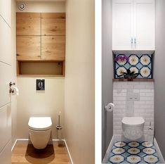 Bathroom Storage 332633122482325053 - The Old Reader Source by suau_ludovie Bathroom Design Luxury, Bathroom Design Small, Modern Bathroom, Small Toilet Room, Small Bathroom With Shower, Wc Design, Toilet Design, Ideas Baños, Bathroom Design Inspiration