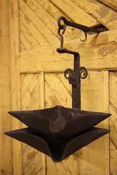 Georgian Antique Iron Cruise Lamp