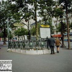 Métro Georges V, Paris