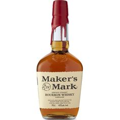 Maker's Mark Bourbon whisky 700ml (4.100 RUB) ❤ liked on Polyvore featuring home, kitchen & dining and food