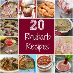 Something to do with our rhubarb in the backyard. Fresh This Month: Rhubarb Recipes For Kids & Their Parents
