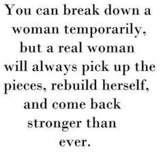 The Strength of a #woman :) #TrueStory