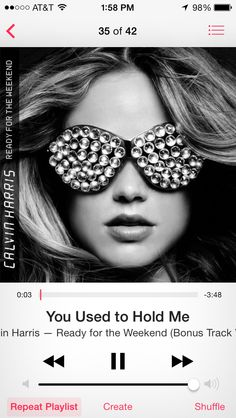 "Calvin Harris ""You Used To Hold Me""    #calvinharris #youusedtoholdme #edm"