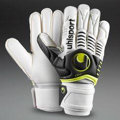Uhlsport Goalkeeper Gloves - Limited Edition - Uhlsport Ergonomic - Goalie Gloves - Sports et équipements - Foot - Uhlsport