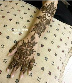 New Tattoo Back Flower Henna 50 Ideas Arabic Henna Designs, Unique Mehndi Designs, Mehndi Design Images, Mehndi Designs For Hands, Heena Design, Flower Tattoo Designs, Flower Tattoos, Tatoo Designs, Art Designs
