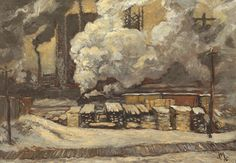 A 1912 oil sketch by Group of Seven member J.E.H. MacDonald sold for $230,000 at auction on Tuesday night, including a 15 per cent buyer's premium.  Tracks and Traffic was among several notable works up for sale at Consignor Canadian Fine Art's fall auction. It had a pre-sale estimated value of between $200,000 and $250,000 not including the buyer's premium.