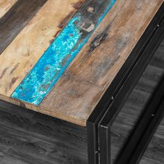 reclaimed wood coffee table, teak coffee table, bali boat coffee