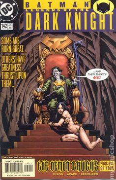 Batman Legends of the Dark Knight (1989) 142DC Comic Book cover Modern Age