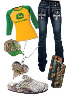 """John deere"" by barrelracer93 on Polyvore"