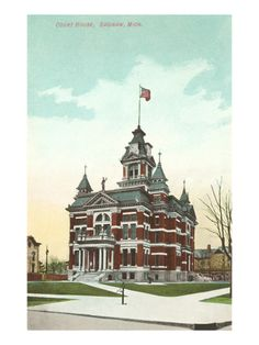 Courthouse, Saginaw, Michigan - I remember this building!