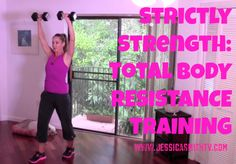 20-Minute Strictly Strength Total Body Workout - Jessica Smith TV Fitness YouTube Workout Videos