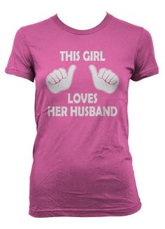 This Girl Loves Her Husband Shirt