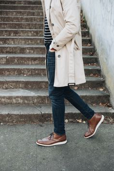 Shop the Men's Total Motion Sport Dress Chukka Boot along with the rest of our mens footwear collection at Rockport Rockport Smart Casual Menswear, Men Casual, Mens Leather Chukka Boots, Cole Haan Mens Shoes, Mens Fashion Shoes, Men's Fashion, Fashion Outfits, Fall Outfits, Spring Ahead