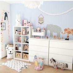 Bild Small Bedroom Furniture, Furniture Fix, Kids Bedroom, Tiny Room Ideas, Apartment Inspiration, Baby Room Design, Bedroom Storage, Playroom, Family Room