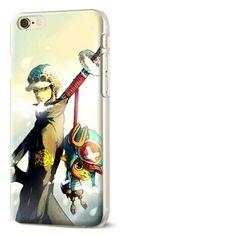 Coque étui téléphone Luffy Pour iPhone 7 Diy One Piece