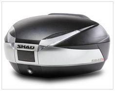948d0f09 SHAD SH48 TOP CASE Motorcycle Luggage, Luggage Rack, Full Face Helmets,  Suzuki Gsx