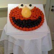 Elmo Birthday Party Cupcakes