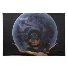#rottpupinearth hand placemat - #rottweiler #puppy #rottweilers #dog #dogs #pet #pets #cute