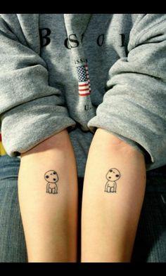 Kodamas (L) :3 tattoo