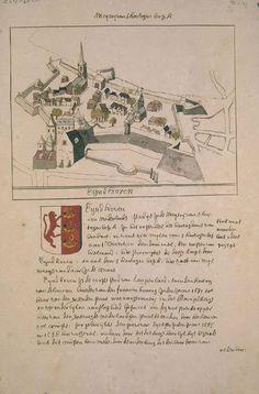 Atlas Eindhoven Star Fort, Eindhoven, Forts, Vintage World Maps, Castles